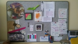 quantum bulletin board